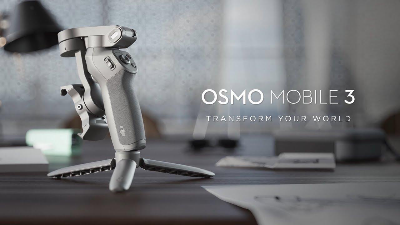 DJI Osmo Mobile 3 Handheld Smartphone Foldable Gimbal Combo Kit CP.OS.00000040.01