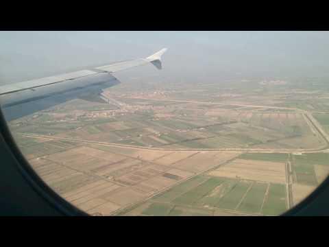 الهبوط في مطار برج العرب بالإسكندرية مصر  Landing at Borg El Arab Airport in Alexandria Egypt (HBE)