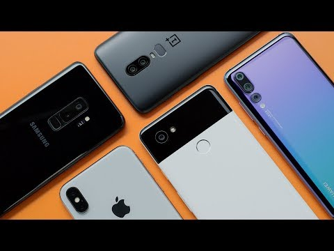 Top 5 Smartphone Cameras: The Blind Test! [2018]