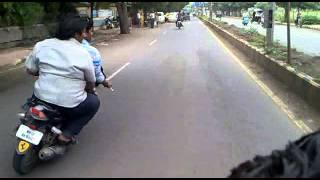solapur bike stunts