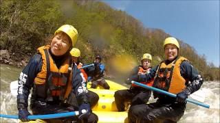 北海道ライオンアドベンチャー 尻別川春コース 2012 5 13