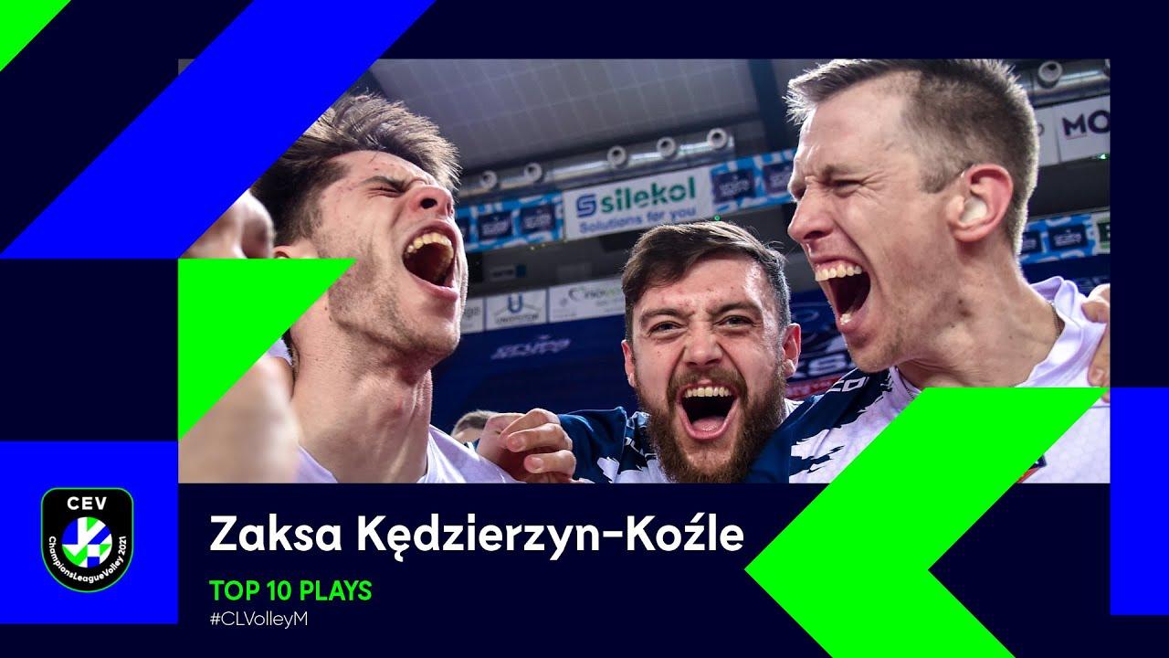 Kędzierzyn-Koźle Top 10 Plays of the 2021 Season - #CLVolleyM