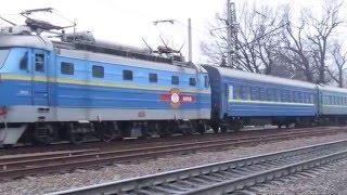 ЧС2-707 с поездом 7014 Красноград-Харьков(, 2016-03-02T07:25:28.000Z)