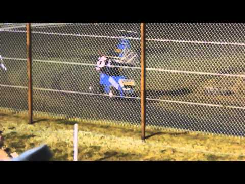 Mid America Lightning Sprint Feature Race at Nevada Speedway 8-09-14