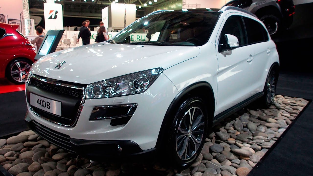 2015 peugeot 4008 - exterior walkaround - youtube
