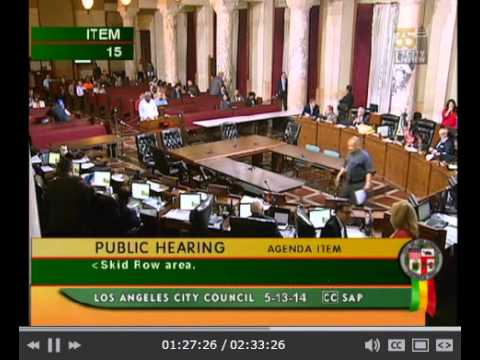 Los Angeles City Council Ignoring the People at Public Comment