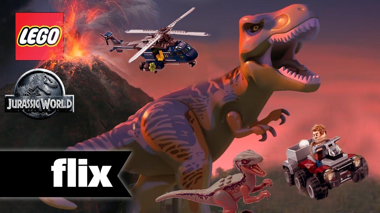 Jurassic World Fallen Kingdom Lego Sets Unveiled Youtube