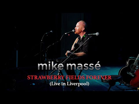Strawberry Fields Forever  in rpool acoustic Beatles cover - Mike Massé