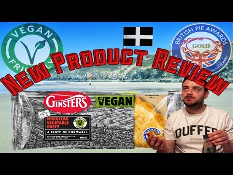 Ginsters Vegan Cornish Pasty Review