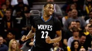 Andrew Wiggins Full Highlights at Rockets - 30 Points On His Birthday! (2015/02/23)