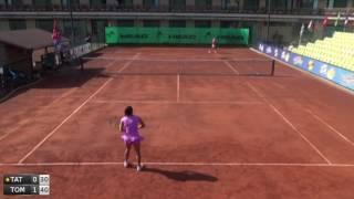 Tatarus Gabriela Nicole v Tomova Viktoriya - 2016 ITF Dobrich