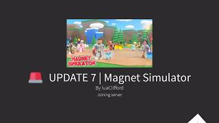 *NEW* Awesome Hats!!!!!!!!! | Magnet Simulator | damiend567 | Roblox