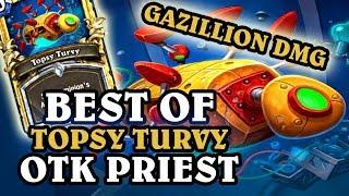 Hearthstone - Best of OTK Topsy Turvy Priest | INSANE Over 8000 Damage OTK