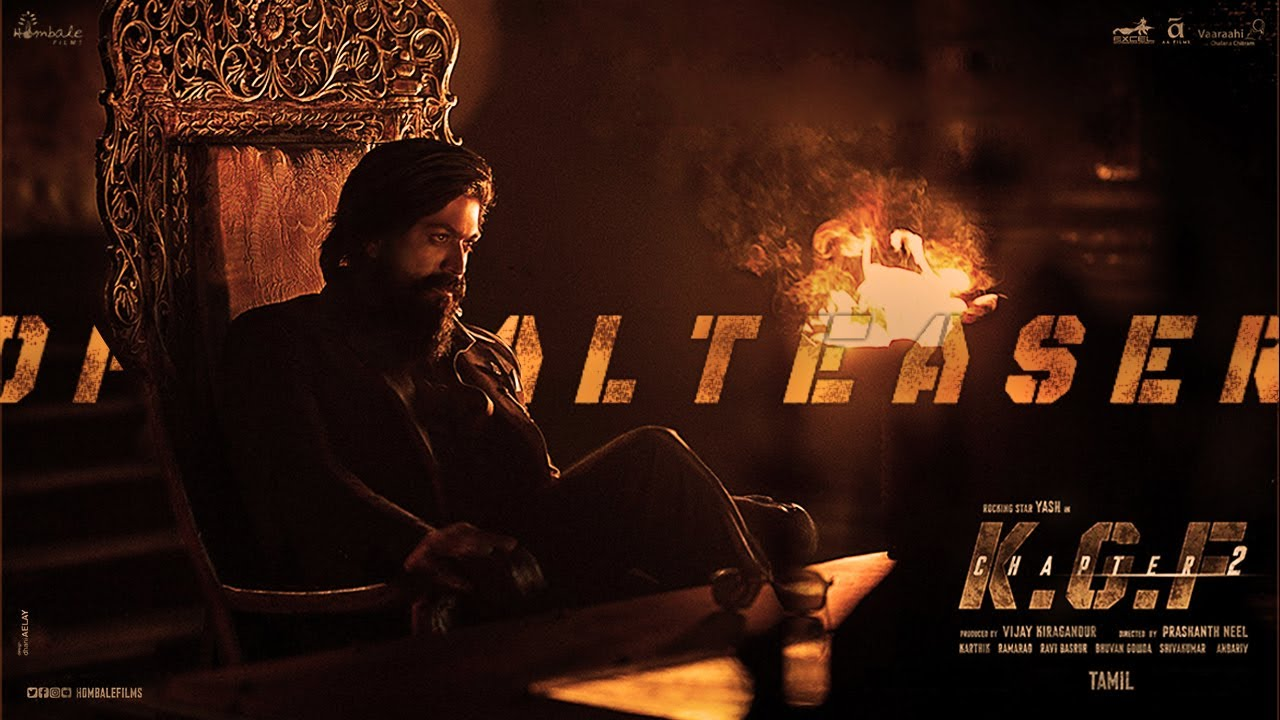 Download KGF CHAPTER - 2 Official Teaser ( Tamil ) | Yash | Sanjay Dutt | Prashanth Neel | Vijay Kiragandur