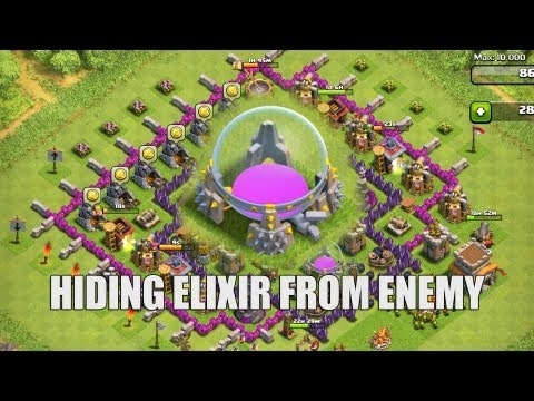 Clash of Clans - Part 29 - Hiding Elixir and Cost Calculator Update!