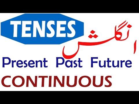 Continuous Progressive English Tenses Learn in Urdu