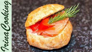 ГУЖЕРЫ Закусочные Заварные Булочки с Сыром Рецепт и на Праздник и на Каждый День