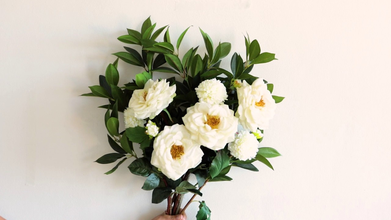 How To Arrange Artificial Flowers Like A Pro Youtube