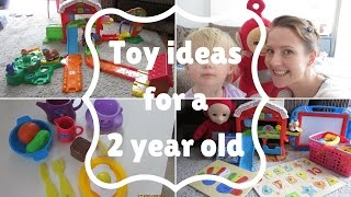 Toddler toy ideas | My 2 year olds favourite toys