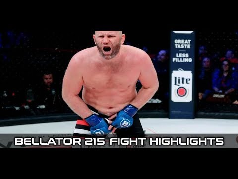 Bellator 215's main event ends after 15 seconds due to heavyweight groin kick