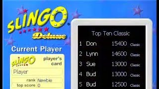 Slingo Deluxe ~ Windows PC