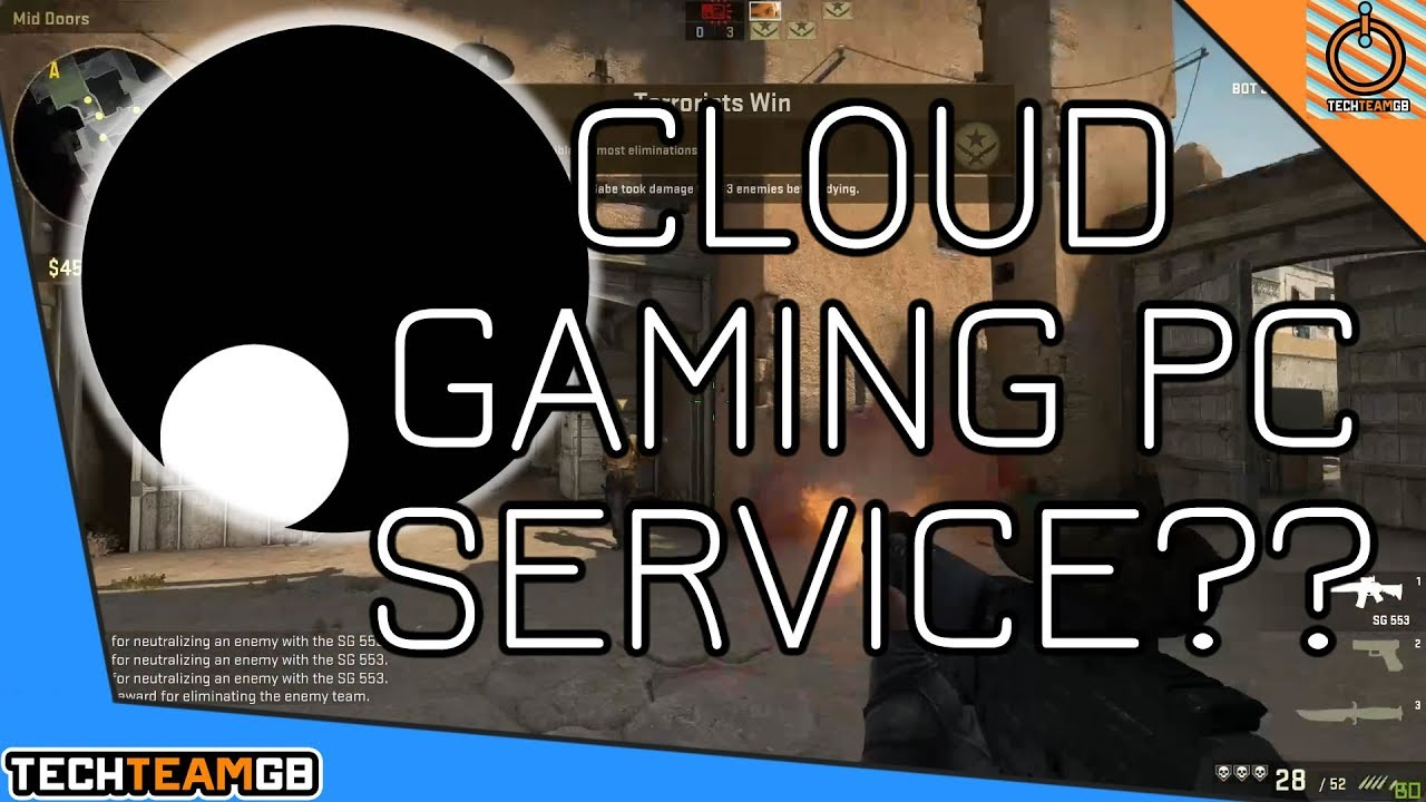 Cloud Gaming PC Service?? | Shadow tech Review