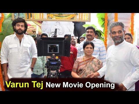 Mega Prince Varun Tej New Movie Opening Video #VarunTej New Movie Launch