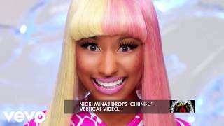Nicki Minaj Spits Fire On Chun-Li Vertical Video