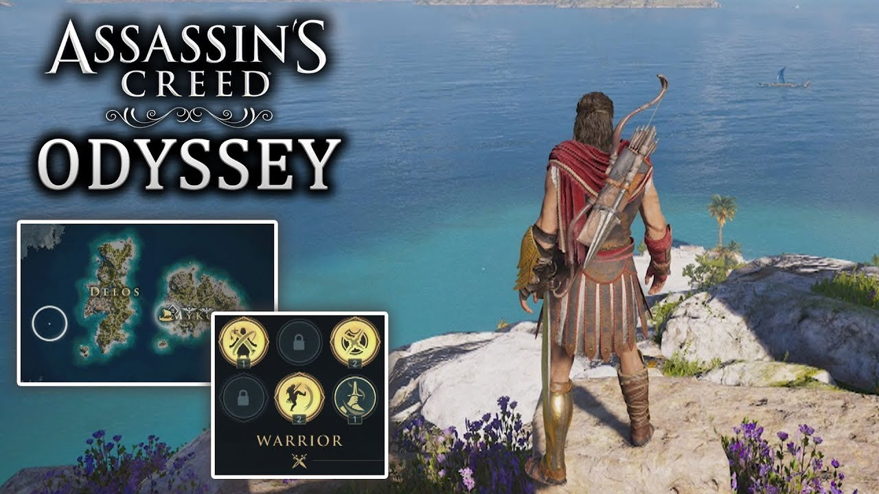 Asssassin S Creed Odyssey All Abilities Map Size Customization