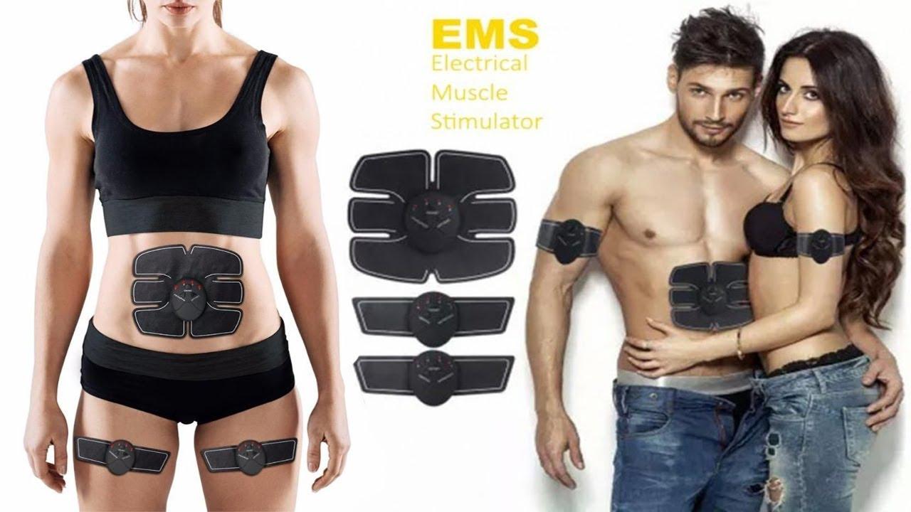 Bauchmuskelgürtel ABS Trainer Gear Six Muskelstimulator Training Fitness
