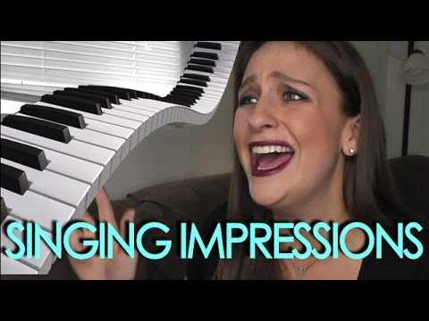 POP SINGER IMPRESSIONS - Britney Spears, Nicki Minaj, Shakira, & More!