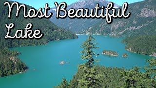 Most BEAUTIFUL Lake in America!! DIABLO LAKE!