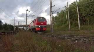Встреча рассвета глазами машиниста/Meeting the dawn in the eyes of train driver