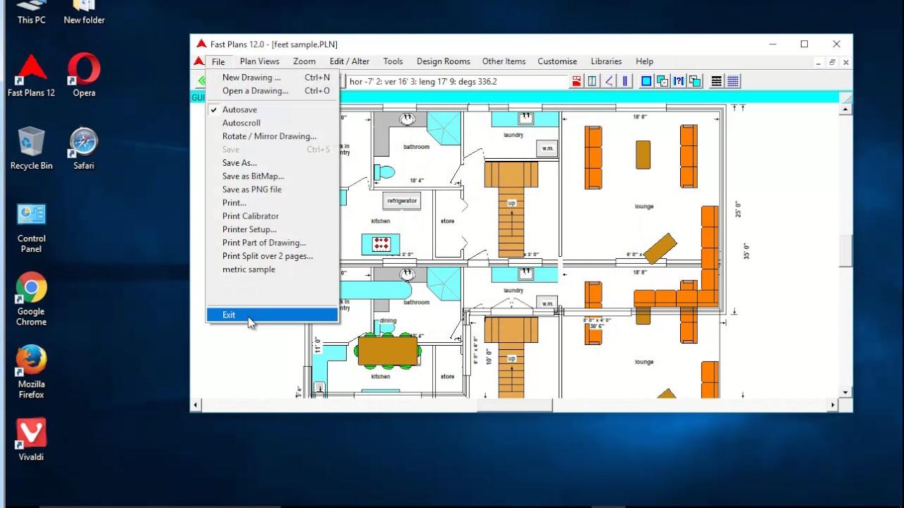 floor plan creator chrome. Uninstall Fast Plans 12 on Windows 10 Creators Update  YouTube