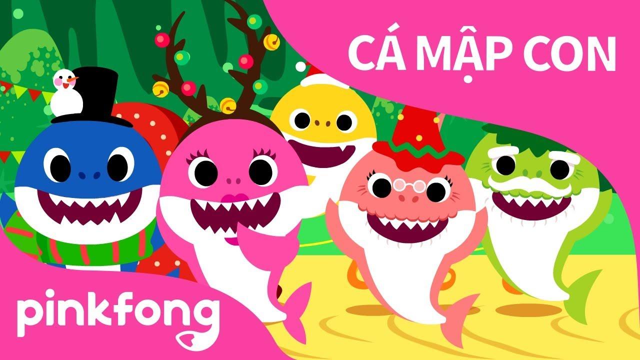 Cá Mập Mừng Giáng Sinh | Bài hát Giáng Sinh | Những bài hát PINKFONG dành cho thiếu nhi