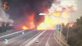 Explosión de camión en Bolonia provoca 2 muertos y 70 heridos
