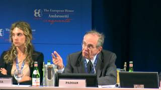 Intervento del Min. Padoan al Forum The European House - Ambrosetti