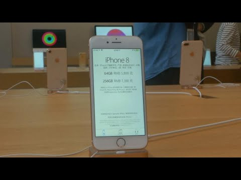فرانس 24:Apple's iPhone 8 debuts to muted reaction and lower sales
