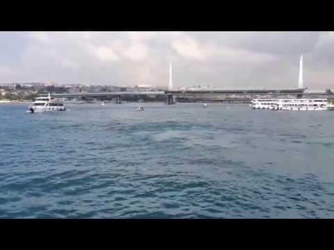 Bosphorus Tour ferry Istanbul, Turkey 2014 (Part 1) /Love Travel