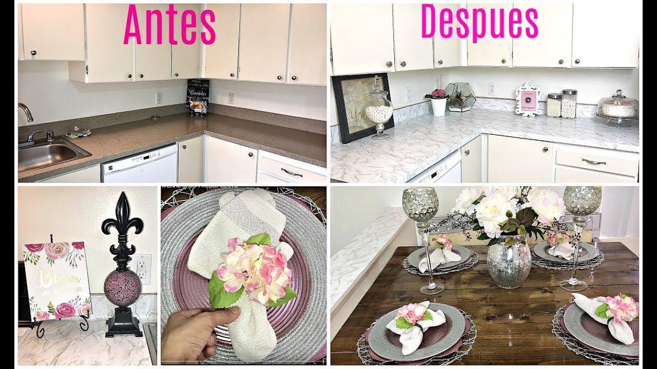 Ideas para decorar una cocina pequena bajo presupuesto - Decorar cocina comedor pequena ...