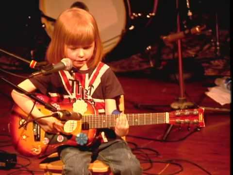 5-year-old boy plays 'Folsom Prison Blues' by Johnny Cash