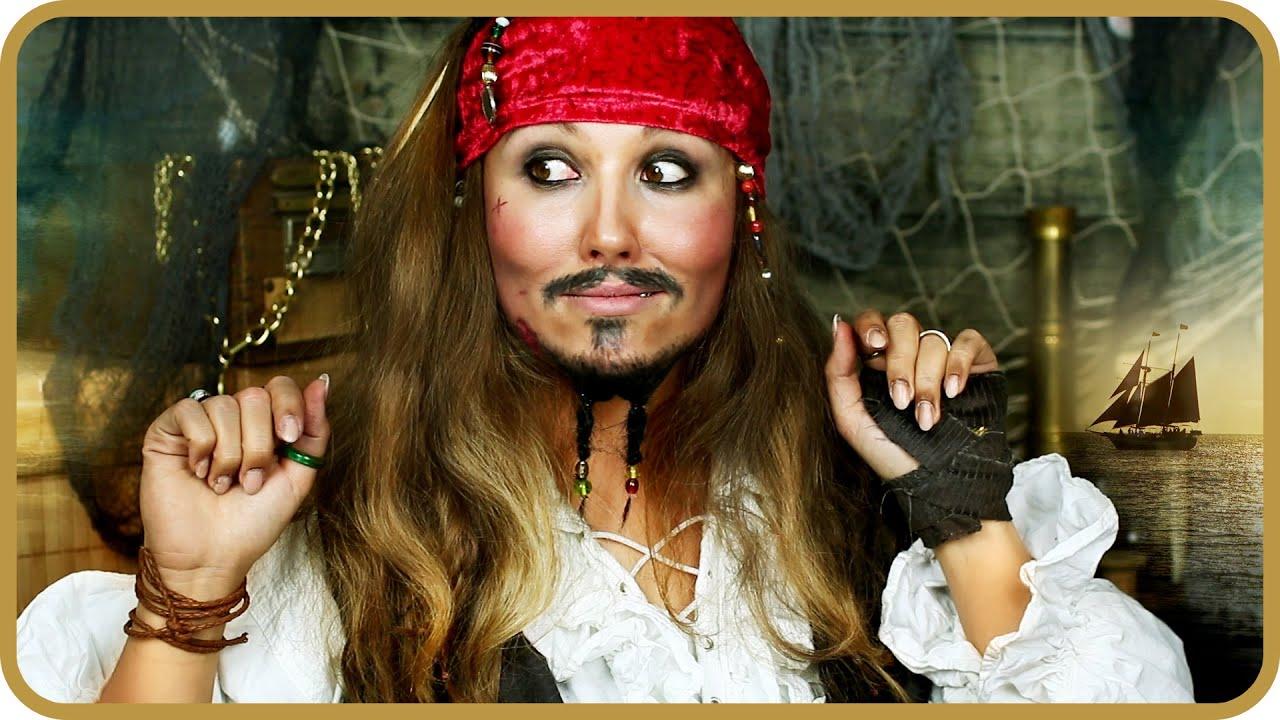 Jack Sparrow Transformation Makeup Ii Sissi