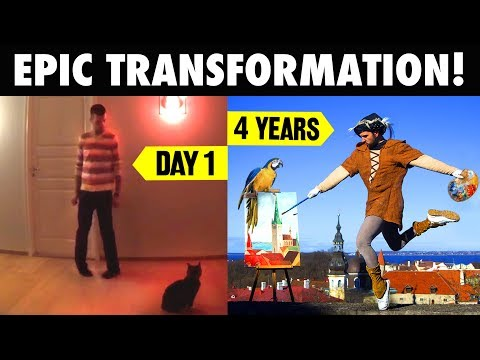MY 4 YEARS OF TRANSFORMATION (VIDEO TIME - LAPSE) - ORIGINAL EDITION - NEILAND