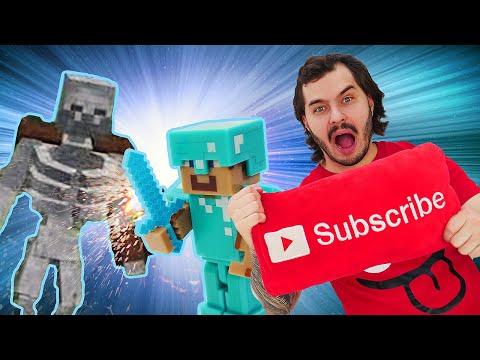 Видео Майнкрафт - идём в рейд. Летсплей обновлений Minecraft, часть 2.