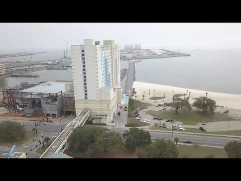 ISLAND VIEW ADDITION OF NON SMOKING AREA | GULFPORT, MS | PORT OF GULFPORT AERIAL VIEW