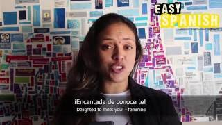 10 Spanish phrases for meeting somebody new - Easy Spanish Basic Phrases (4)