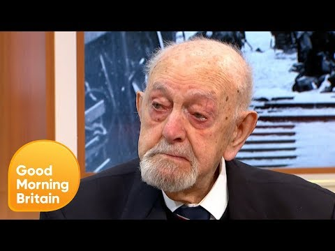 Veteran Ted Cordery Emotionally Recalls the Events of D-Day | Good Morning Britain