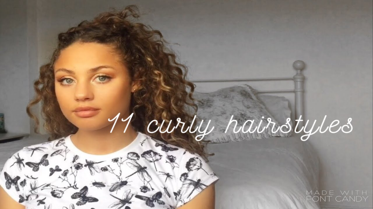 11easy curly hairstyles