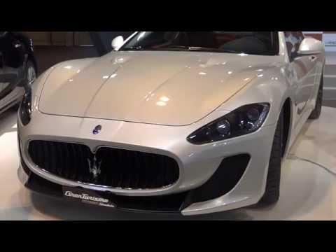 Maserati GranTurismo MC Stradale at Madrid Motor Show 2014 | AutoMotoTV