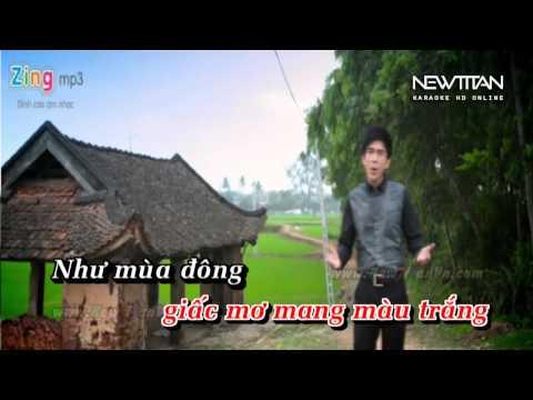 Giấc mơ màu tím-Đan Trường ft Hồ Quỳnh Hương (beat gốc)